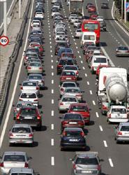 La densidad de tráfico aumenta el estrés de los conductores según el estudio.