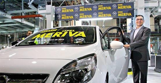 La planta de Opel en Figueruelas celebra la salida de la línea de producción del primer Nuevo Meriva