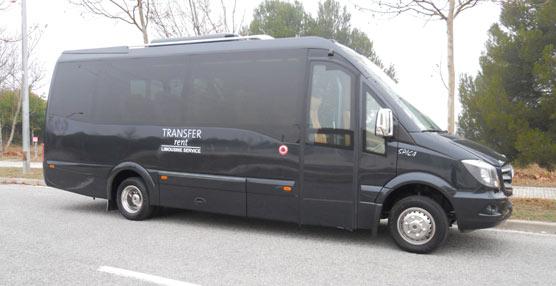Transfer Rent estrena un Spica de Car-bus.net de 16 plazas carrozado sobre chasis cabina Sprinter MBEuro VI