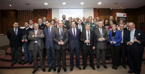 Cavero entrega los galardones de la II edición de Premios del Consorcio Regional de Transportes de Madrid