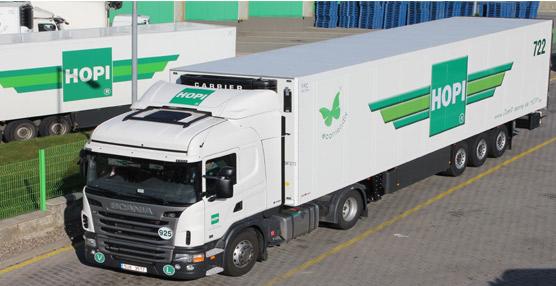 El operador logístico internacional HOPI renueva su flota de tractoras con la compra de 180 Scania