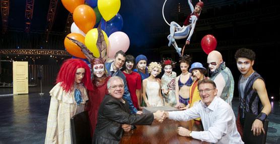 DHL ha anunciado un acuerdo para apoyar al Circo del Sol como Socio Logístico Oficial