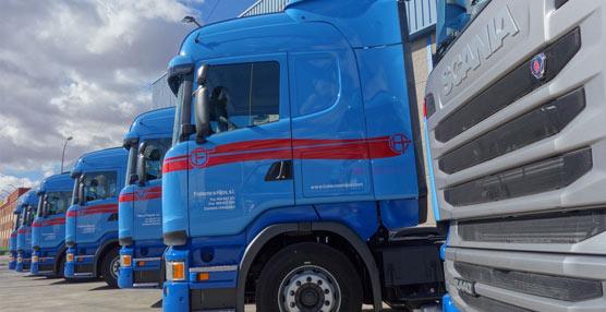 Scania entrega 14 tractoras R440 Streamline a la compañía albaceteña Transportes Fraterno e Hijos