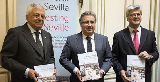 El alcalde de Sevilla anuncia un plan para atraer inversores y la ampliación de la zona franca, la cual se hará este año
