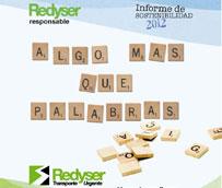 Redyser presenta el II Informe de Sostenibilidad con los principales proyectos de RSC en 2011 y 2012