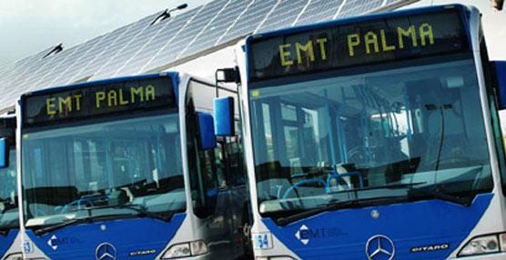 La flota de autobuses urbanos Mercedes-Benz para Palma.