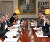 Ana Pastor se reúne con el ministro de Economía de Portugal, Antonio Pires, para tratar asuntos de interés común
