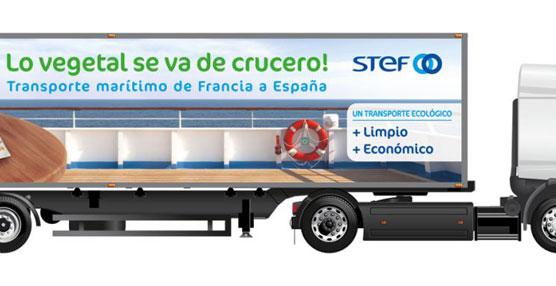 STEF y Triballat Noyal lanzan una operación logística de transporte combinado entre Chateaubourg y Madrid