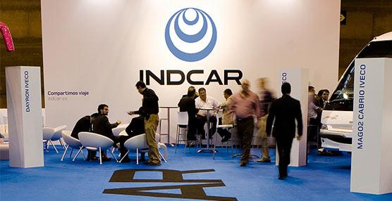 Stan de Indcar presentando el modelo Mago 2.