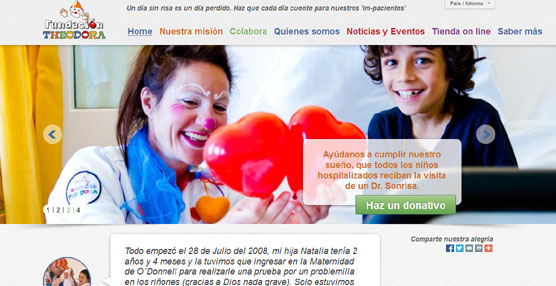 La Fundación Theodora presenta su tienda 'online' con una campaña solidaria apoyada por Redyser