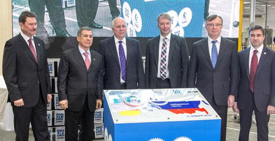 ZF Kama inaugura un nuevo centro de producción de cajas de cambio para vehículos industriales en Rusia