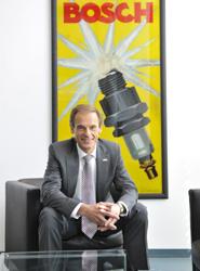 Volkmar Denner, presidente de la Alta Gerencia de Robert Bosch GmbH.