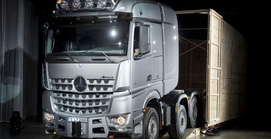 Mercedes Benz presenta los nuevos Actros SLT y SLT Arocs, los camiones especialistas en trabajo pesado