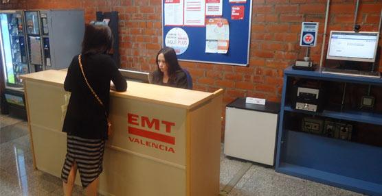 EMT Valencia constata una tendencia de aumento de consultas y el descenso de quejas y reclamaciones