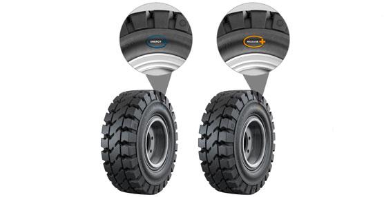 Continental amplía la gama de neumáticos Súper-Elásticos para aplicaciones industriales