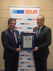 Seur Logística consigue la triple certificación de AENOR por sus directrices de prevención de riesgos laborales