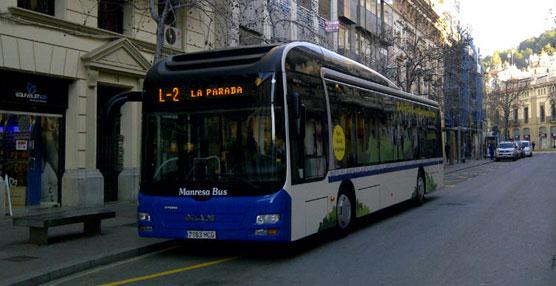 Transgran y BusManresa utilizarán durante dos semanas un autobús híbrido de MAN