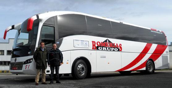 Sunsundegui carroza un SC7 para la empresa familiar Autocares Romerías