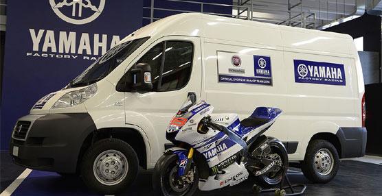 Fiat Professional, patrocinador y proveedor de vehículos del equipo japonés en el Campeonato de MotoGP 2014