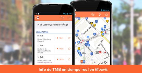 Moovit lleva casi 300.000 descargas en España.