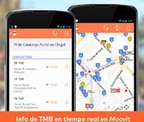 Moovit impulsa el 'open data' entre los viajeros para mejorar la calidad del transporte público en España