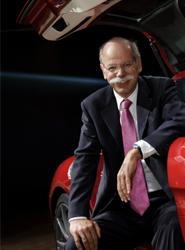 Dieter Zetsche, presidente del Consejo de Dirección de Daimler AG y jefe de Mercedes-Benz Cars.
