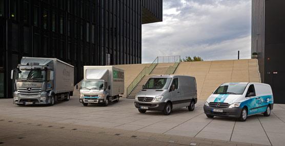 Daimler Trucks vende 484.200 vehículosel año pasado y alcanza unos ingresos de 31.500 millones de euros