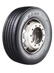 Bridgestone presenta su nuevo neumático de dirección para camión, el R249II EVO Ecopia