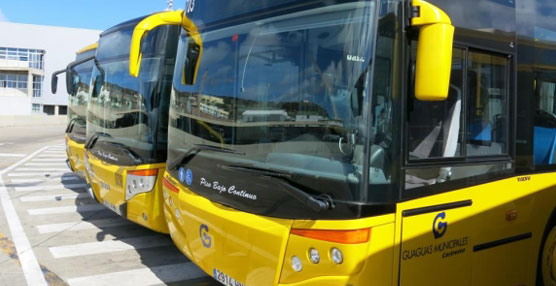 Guaguas Municipales invierte 2,5 millones en la adquisición de ocho vehículos articulados MAN