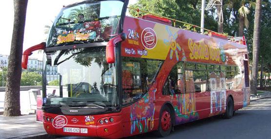 Los buses turísticos de City Sightseeing promocionan en 2014 los baños árabes 'Aire de Sevilla'