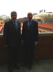 De izquierda a derecha: José Campos y Joaquín Prado.