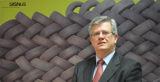 Gabriel Leal es el nuevo director deSignus Ecovalor, entidad que vela porla gestióndel neumático usado