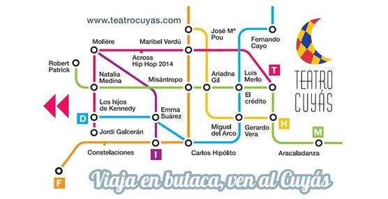 Guaguas Municipales emitirá 100.000 unidades del Bono-10 para promocionar la temporada escénica del Teatro Cuyás