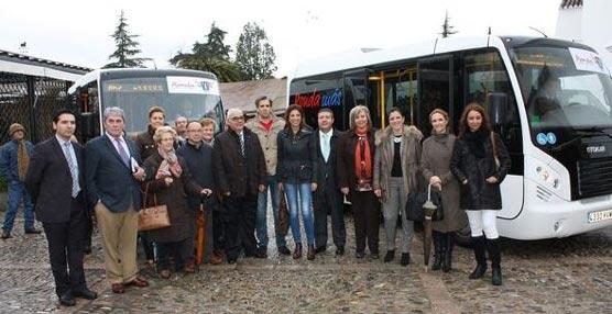 El Ayuntamiento de Ronda pone en marcha el nuevo servicio de transporte público urbano con tres líneas