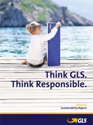 El proveedor de servicios de paquetería GLS publica su primer informe de sostenibilidad