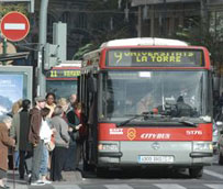 El uso de los autobuses de EMT Valencia aumenta más del 17% el día en que arrancan las fallas