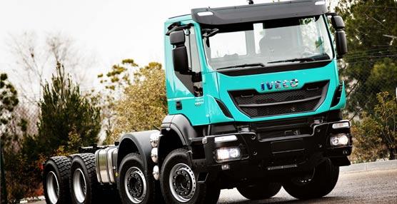 El nuevo Iveco Trakker, que se fabrica en exclusiva en Madrid, premiado como 'Camión de obras del año' en Irlanda