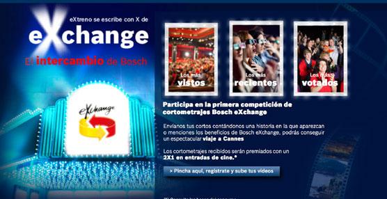 Bosch lanza una 'campaña de cine' para dar a conocer sus productos de intercambio Bosch eXchange