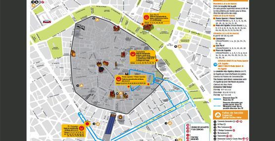 La Empresa Municipal de Transportes de Valencia ofrecerá servicio ininterrumpido para los días grandes de la fiesta