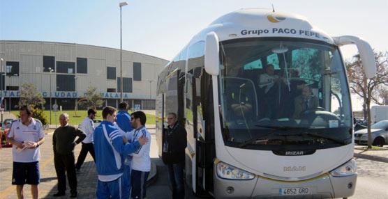 Paco Pepe, servicio de transporte en la Copa del Rey Baloncesto Málaga traslada 10.500 personasen la competición
