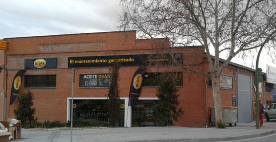 Midas abre en Madrid su primer centro en 2014, dentro de su estrategia de expansión que incluye otras nueve aperturas