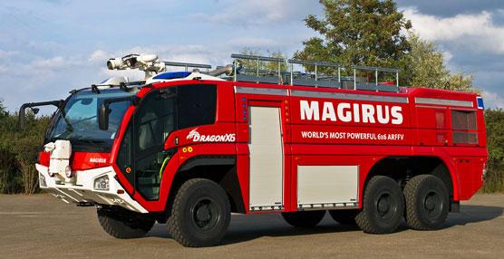 Iveco Magirus suministrará a AENA siete nuevas unidades del camión contraincendios Dragon 6x6