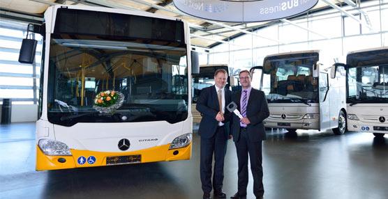 Mercedes-Benz entrega la unidad número 1.000 de su autobús urbano Citaro equipado con tecnología Euro VI