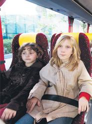 Arranca hoyuna campaña especial de la DGT sobre cinturones y sistemas de retención infantil