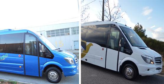 Transvimar estrena dos unidades Corvi de Car-bus.net y Elegant bus un Spica, todos carrozados sobre chasis MB