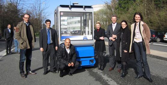 Vicomtech-IK4 desarrolla el primer vehículo robótico con motor eléctrico guiado por visión artificial