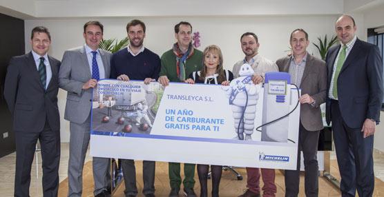 Transleyca gana el sorteo de un año de carburante gratis gracias a una campaña promocional de Michelin