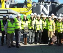 Delegaciones del Grupo Moldtrans visitan los puertos de Valencia y Barcelona dentro de su estrategia de crecimiento