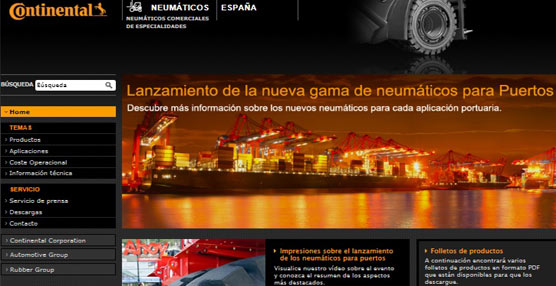 Continental Commercial Specialty Tires estrena nueva página web con todos sus contenidos en español