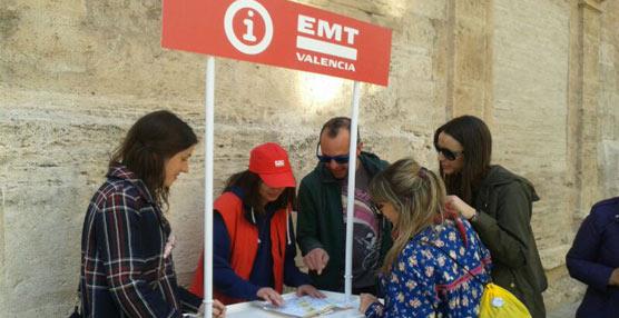 Más de 1,8 millones de personas se desplazaron con el dispositivo especial de la EMT de Valencia para las Fallas